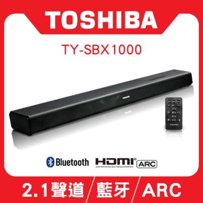 [時時樂限定]TOSHIBA 聲霸藍牙2.1聲道家庭劇院 TY-SBX1000