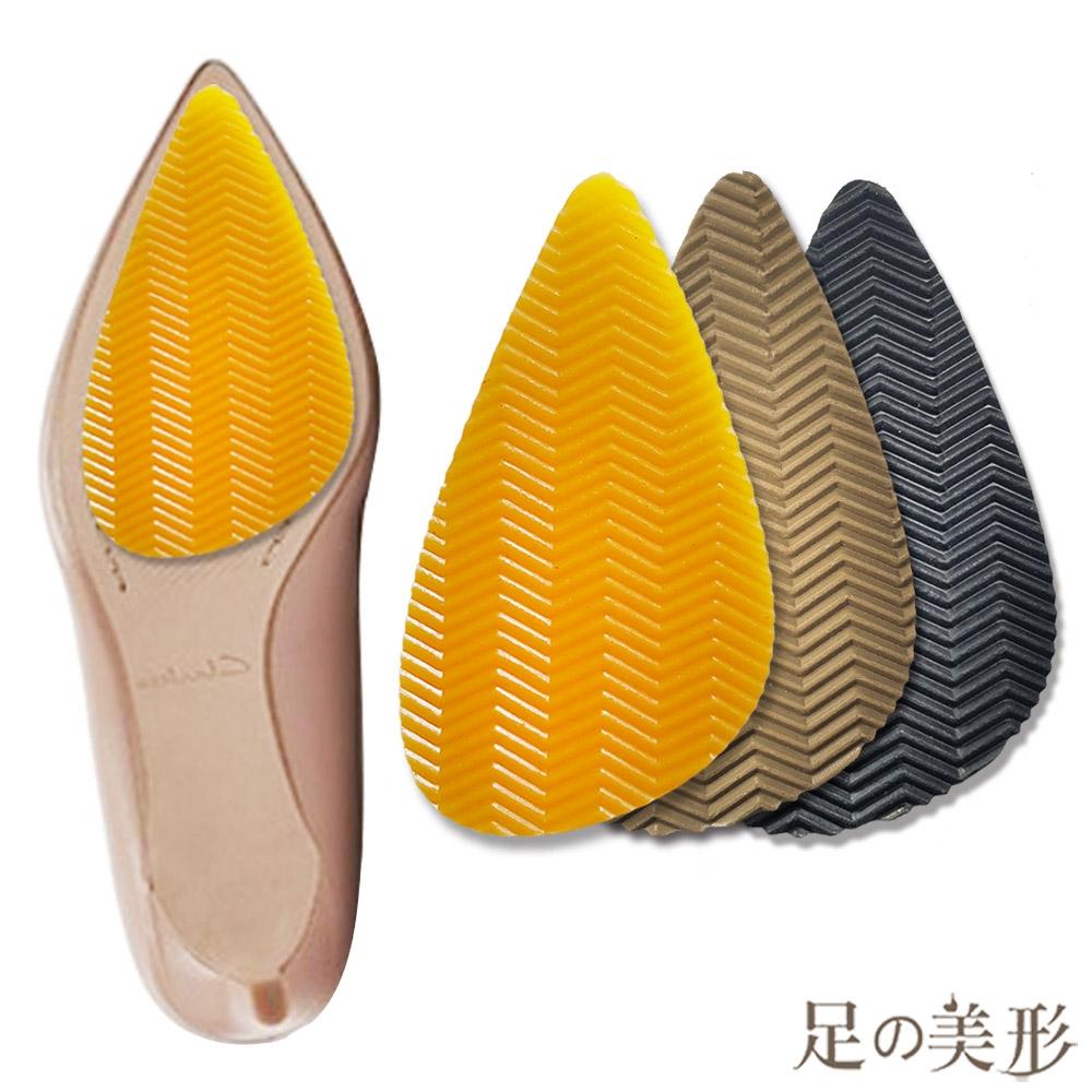 足的美形 台灣製3M尖頭鞋底防滑貼 (3雙)