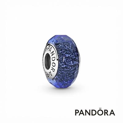 【Pandora官方直營】藍色切面琉璃串飾