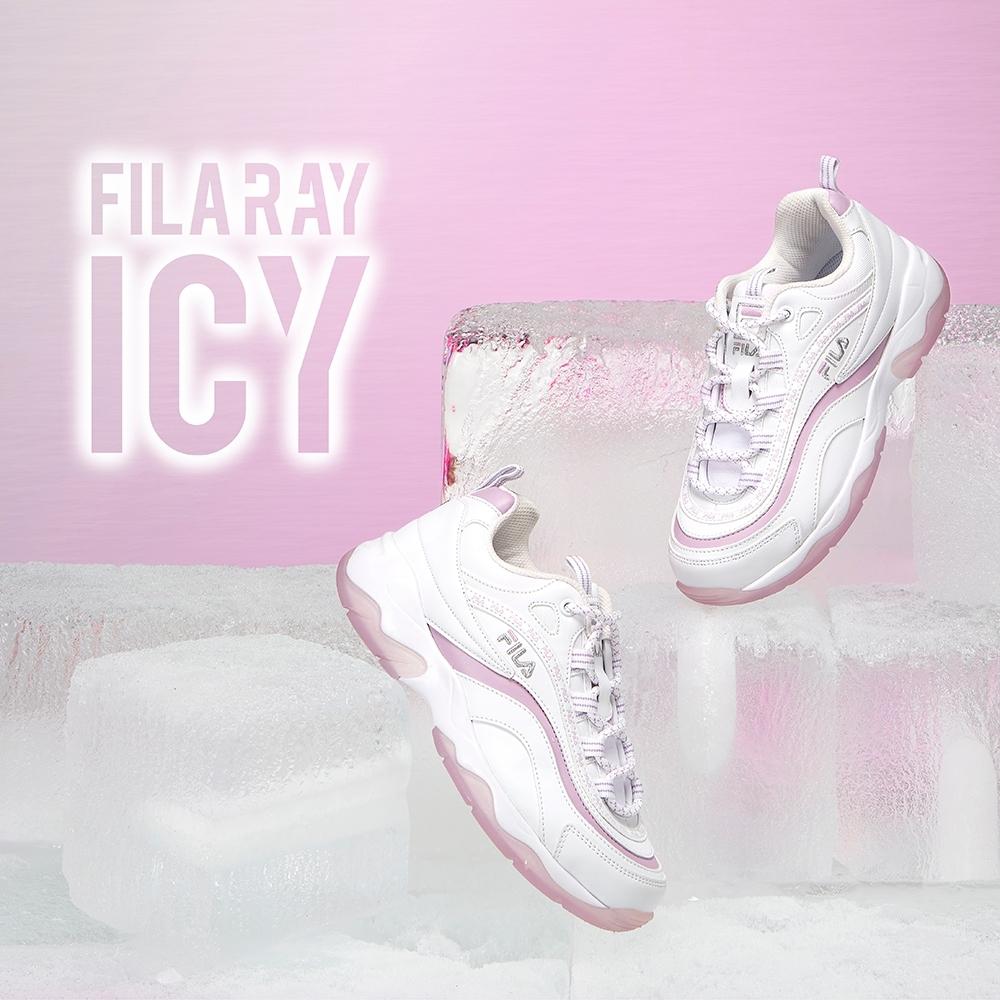 FILA RAY ICY 中性運動鞋-雪沐紫 4-C101V-144