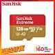 SanDisk Extreme microSDXC UHS-I V30 A2 128G 記憶卡 product thumbnail 1