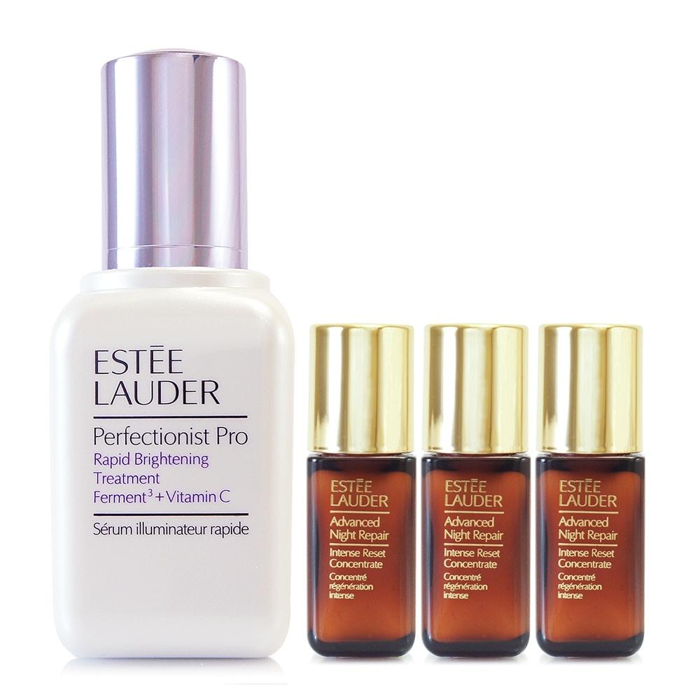 *【真品平輸】ESTEE LAUDER Pro極速淨膚精華50ml+特潤超導賦活精萃5ml*3(濃縮小棕瓶)