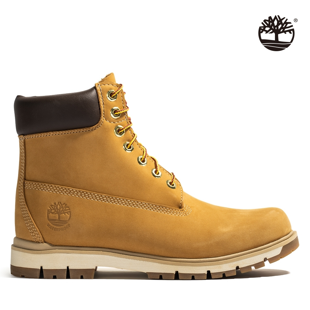 Timberland 男款小麥黃絨面Radford 6吋防水靴
