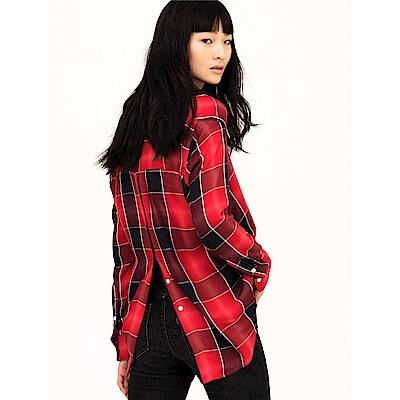 Levis 襯衫 女裝 經典黑紅格紋 亞洲新春限量系列