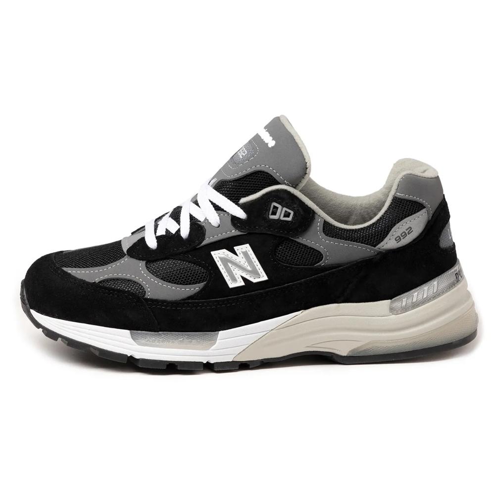 New Balance 休閒鞋 M992EBD 潮流 男女鞋 紐巴倫 復古 美制 復古 情侶球鞋 黑 白 M992EB-D