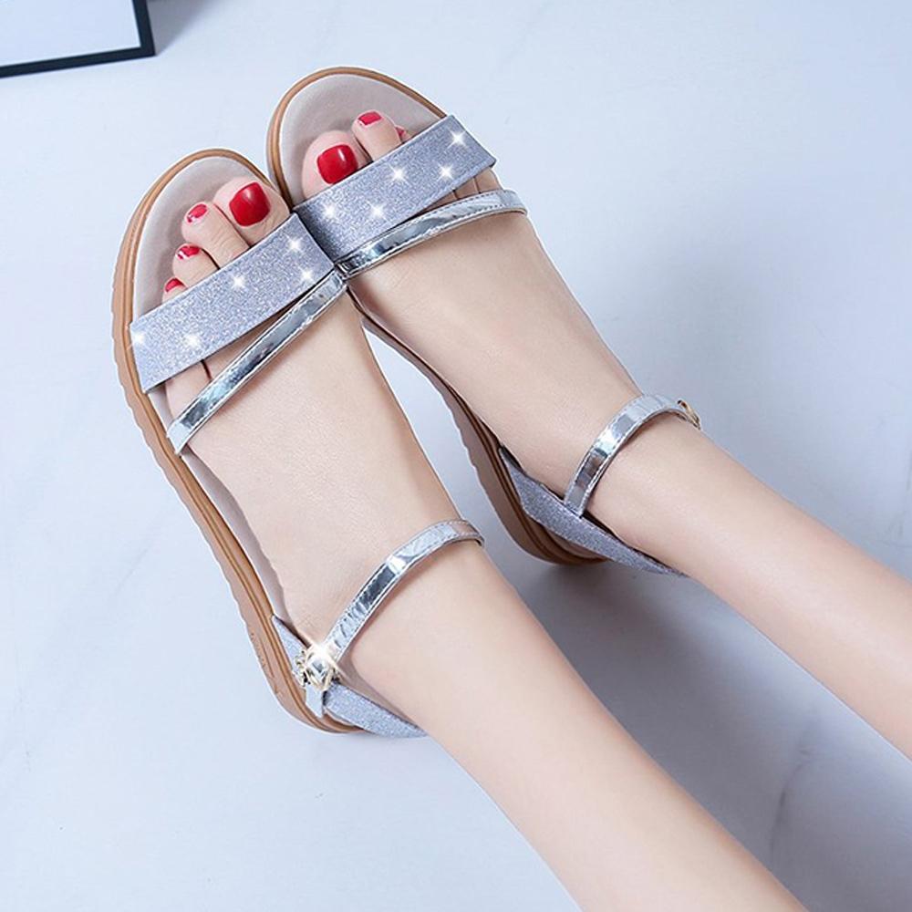 KEITH-WILL時尚鞋館-獨賣通勤必備涼鞋(涼鞋/涼跟鞋)(共2色) (銀色)