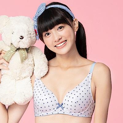 嬪婷-微甜記型 B-C 罩杯內衣(點點白)記形鋼圈不變形