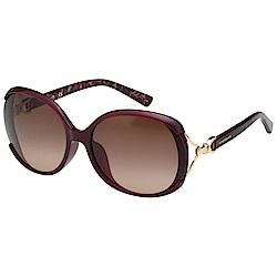 LONGCHAMP 太陽眼鏡 (酒紅色)LO630SK