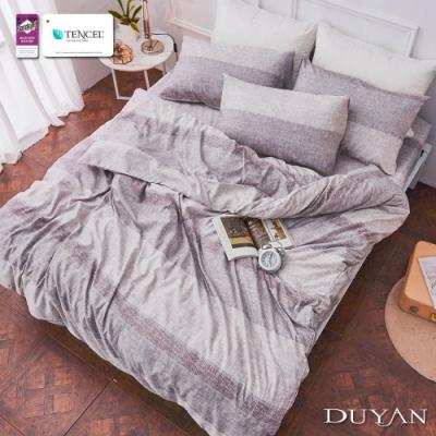 DUYAN竹漾-3M吸濕排汗奧地利天絲-雙人床包被套四件組-恩特之園
