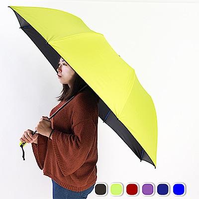 雙龍TDN 超撥水降溫黑膠晴雨傘/大王傘 [限時下殺]