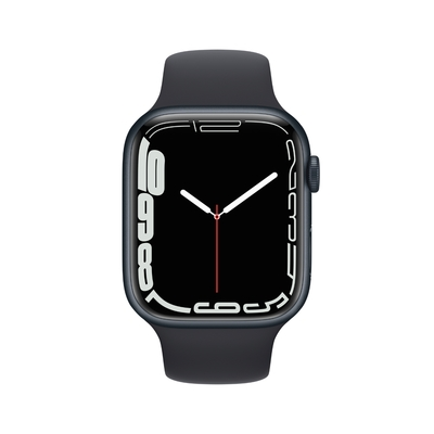 Apple Watch S7 45mm 鋁金屬錶殼配運動錶帶(GPS+LTE)