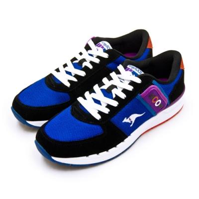 KangaROOS 經典復刻慢跑鞋 COMBAT紅標袋鼠鞋 藍黑紫 91036