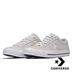CONVERSE-男女休閒鞋-白 161577C