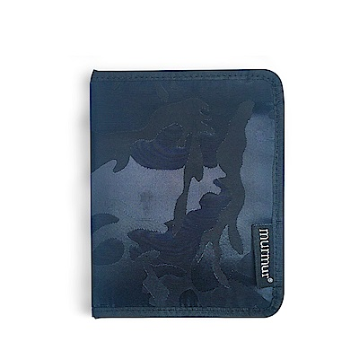 murmur護照套護照夾迷彩藍