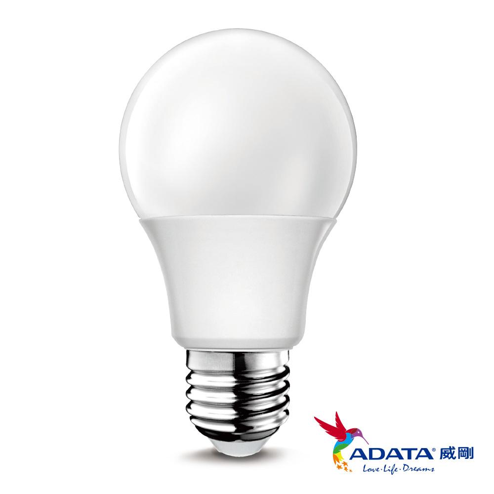 ADATA威剛 10W 大廣角高度LED燈泡8入組(白光/黃光)