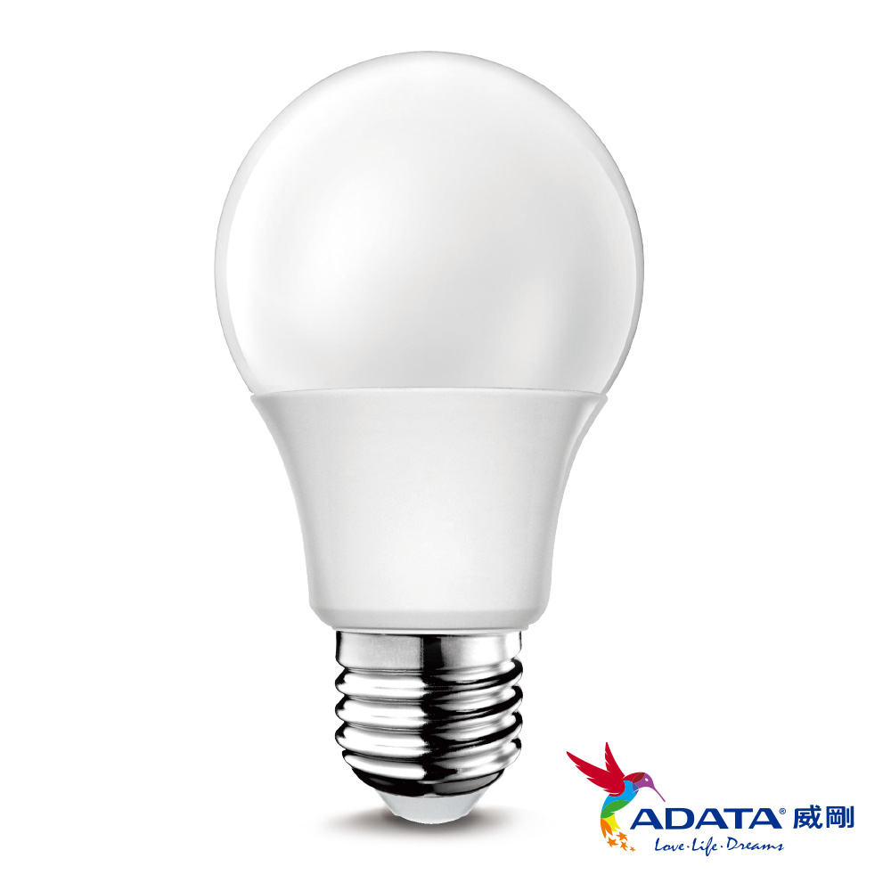 ADATA威剛 13W 大廣角高效LED燈泡6入組(白光/黃光)