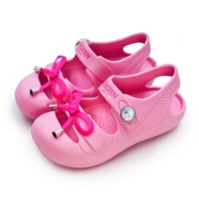 Disney 迪士尼 冰雪奇緣 FROZEN 輕量兒童涼鞋 粉桃紅 84743