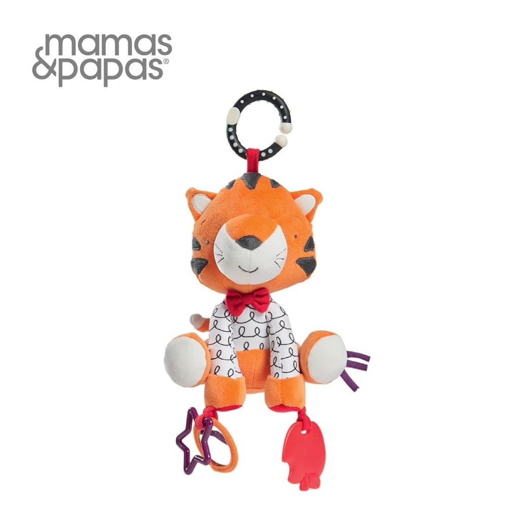 【Mamas & Papas】提克虎打結(搖鈴吊飾玩偶)