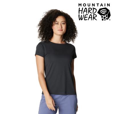 【美國 Mountain Hardwear】Wicked Tech  Short Sleeve T 防曬快乾短袖排汗衣 女款 深風暴灰 #1924961
