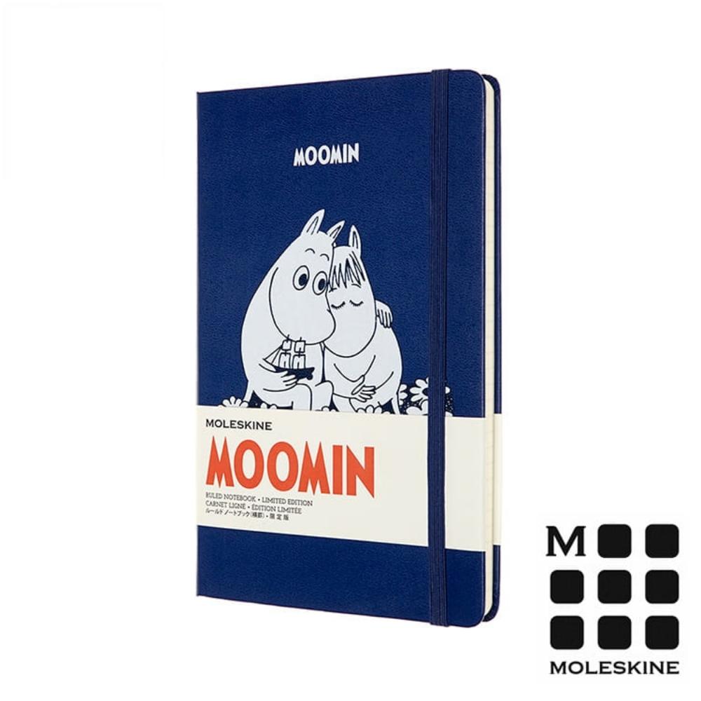 MOLESKINE 嚕嚕米Moomin 限定筆記本-藍