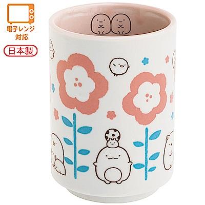 角落公仔歡樂時光系列日式陶瓷茶杯。粉 San-X