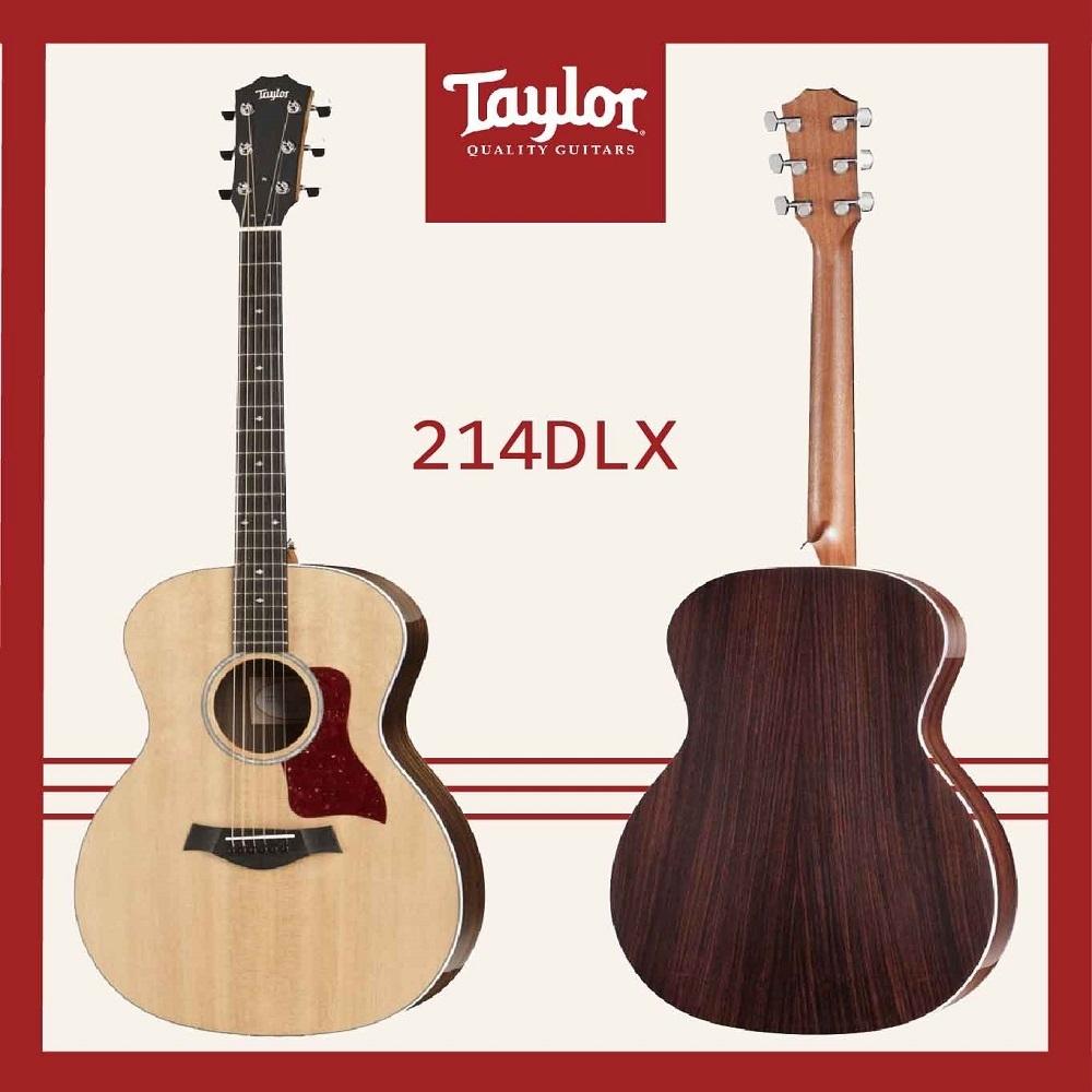 Taylor  214 DLX 木吉他/贈原廠背帶+超值配件包