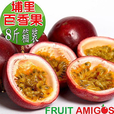 愛蜜果 埔里百香果量販裝(約8斤/箱)