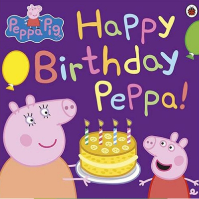 Peppa Pig:Happy Birthday Peppa! 佩佩豬生日快樂平裝本故事書