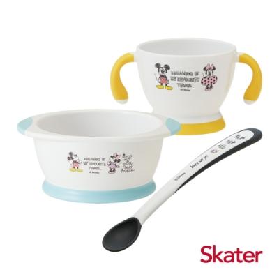 Skater幼童雙耳杯+餐碗+湯匙 (米奇)