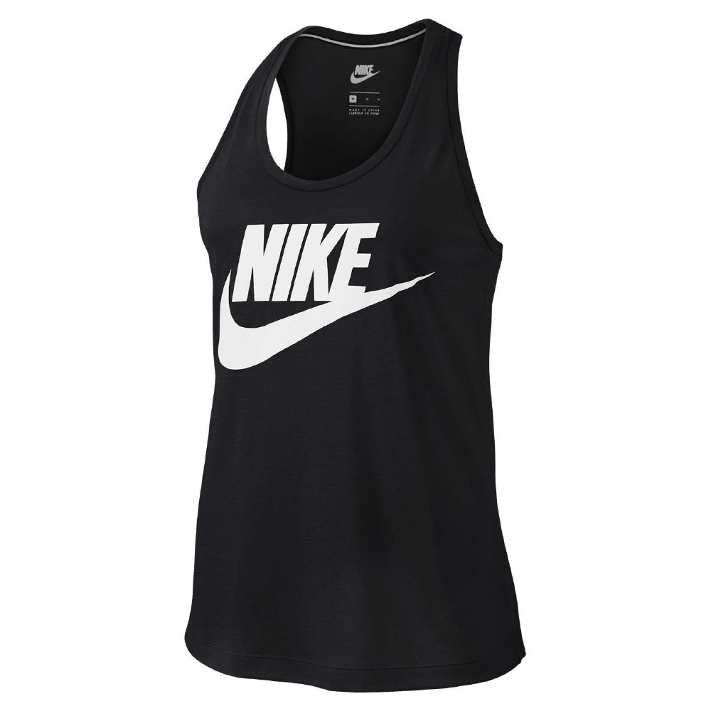 Nike 背心 Sportswear Logo Tank 女款