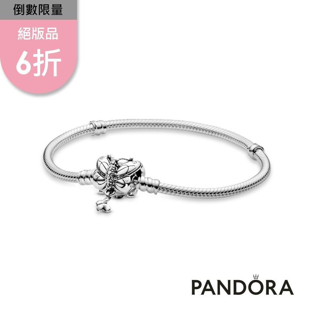 【Pandora官方直營】Moments蝴蝶釦頭手鏈
