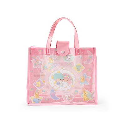 Sanrio 雙星仙子PVC防水手提袋(彩虹魔法)