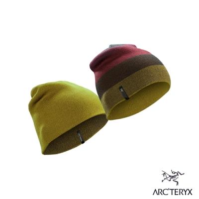 Arcteryx 始祖鳥 Charleson 羊毛 雙面針織毛帽 金炫棕