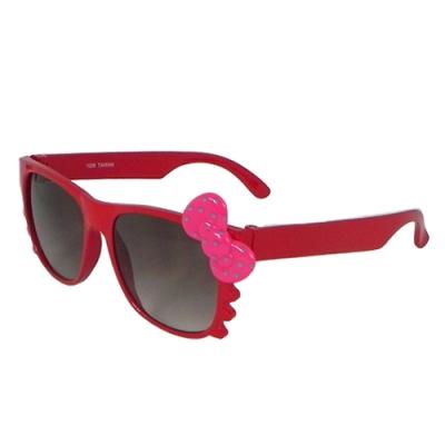 【Docomo女童專用太陽眼鏡】抗UV防紫外線太陽眼鏡 可愛蝴蝶結造型 配戴舒適好搭配 MIT台灣製造款