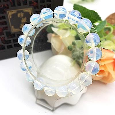Hera 赫拉 頂級清亮蛋白石手珠(10mm)