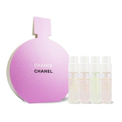 CHANEL 香奈兒 CHANCE 全系列香氛體驗組 1.5mlx4