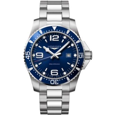 LONGINES 浪琴(L38404966)300米石英潛水款x藍x44mm