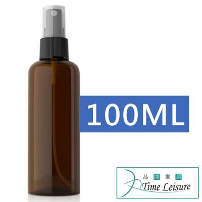 Time Leisure 戶外隨身化妝水防蚊消毒液分裝噴霧瓶 棕/100ml/2入