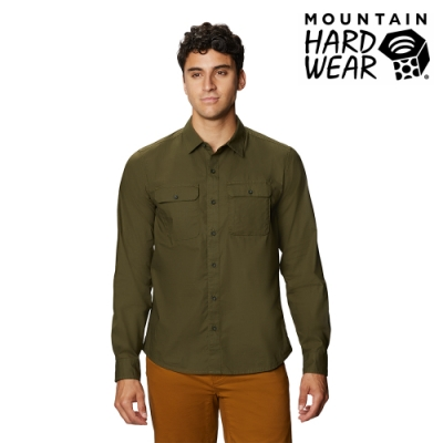 【美國 Mountain Hardwear】J Tree Long Sleeve Shirt 長袖襯衫 男款 深軍綠 #1879041