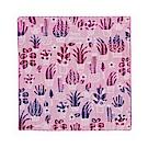 日本Prairiedog 今治三層紗方巾-粉色花園