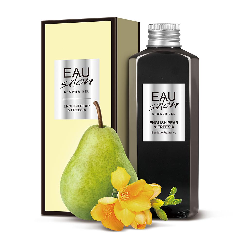 EAU Salon耀.沙龍 香氛沐浴露-英國梨與小蒼蘭100ml