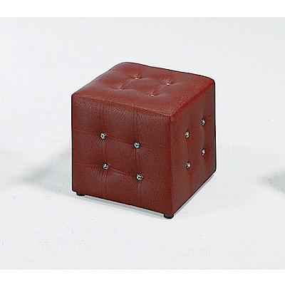 LOVE樂芙-小方椅/紅色-寬34深34高35公分 @ Y!購物