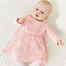 Baby unicorn 粉紅紗裙長袖洋裝