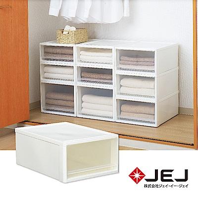 日本JEJ STORA系列 單層可疊式多功能抽屜櫃/53M 2色可選