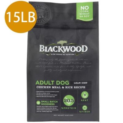 Blackwood柏萊富-特調低卡保健配方(雞肉+糙米)15LB
