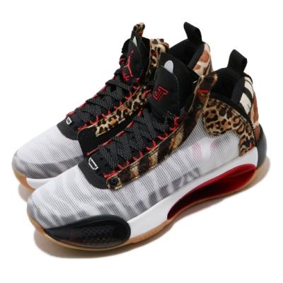 Nike 籃球鞋 Air Jordan XXXIV 運動女鞋 喬丹 明星款 動物園 大童 避震 白 彩 DA4451900