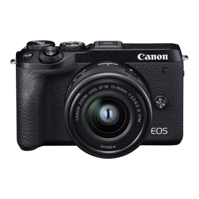 CANON  EOS M6 Mark II 15-45mm STM (公司貨)