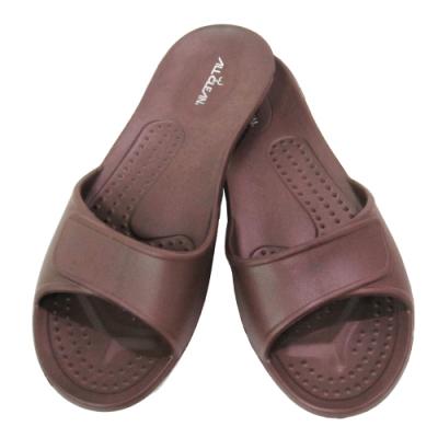 ALL CLEAN 環保室內拖鞋3雙-咖啡色