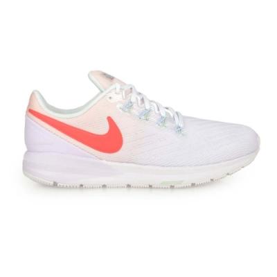 NIKE W AIR ZOOM STRUCTURE 22 女慢跑鞋-運動 路跑 CW2640681 淺紫白橘紅