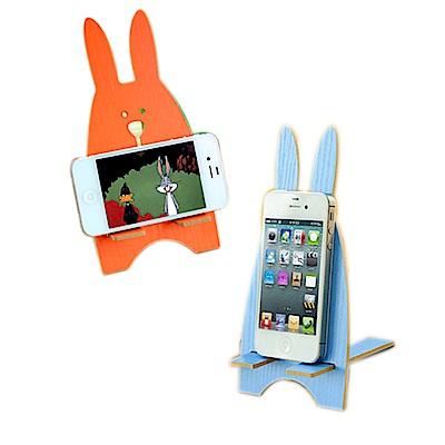 kiret (超值2入)可愛兔子收納架/手機架(隨機出貨)